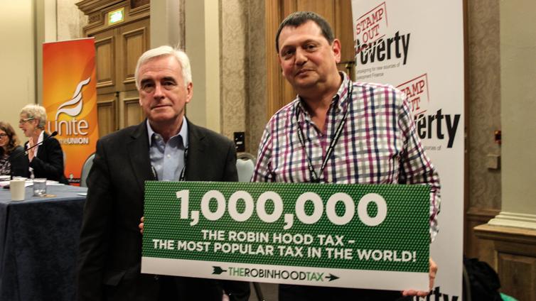 Labour Turns Towards Robin   Robin Hood Tax